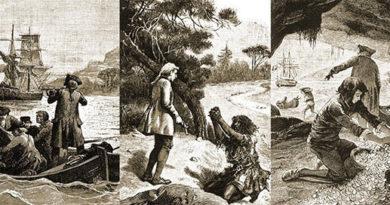 Где происходит действие романа «Остров сокровищ»