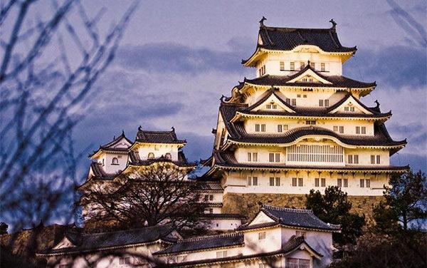 Интересные факты о Японии: Замок белой цапли (Химедзи)