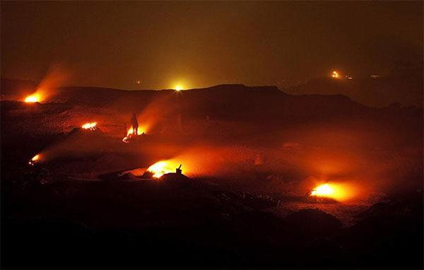 10 естественных вечных огней
