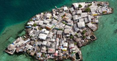 Самый густонаселенный остров в мире