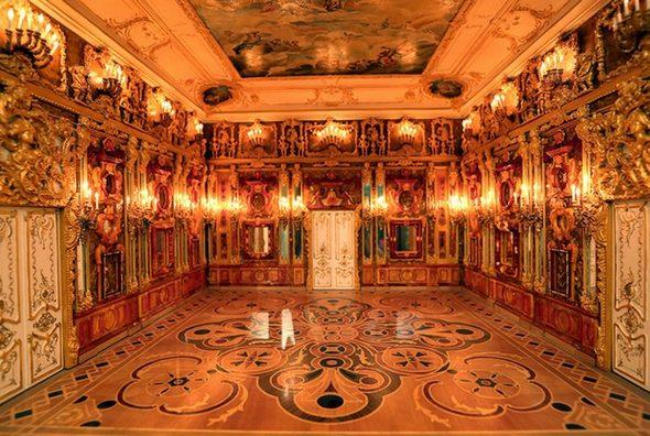 «Восьмое чудо света» - Янтарная комната или «кабинет»
