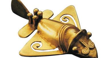 """Загадка золотых """"самолетиков"""" из древних захоронений"""