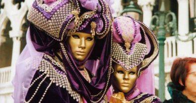 Красота Венецианского карнавала