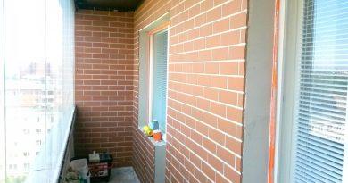 Как покрасить кирпичную стену на балконе?