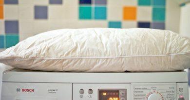 Как стирать пуховую подушку