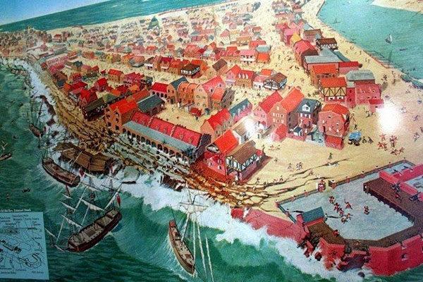 Порт Ройал. Затопленный пиратский город