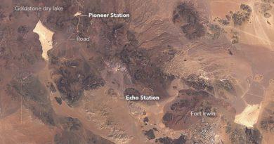 Коммуникации с глубоким космосом в пустыне