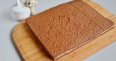 Детские домашнее пирожное