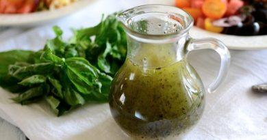 Итальянская заправка к салату