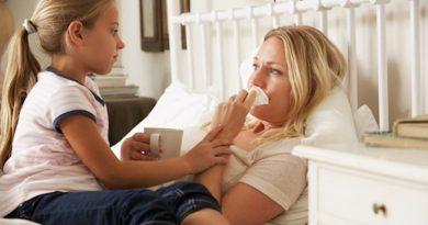Как занять ребенка, если мама болеет?