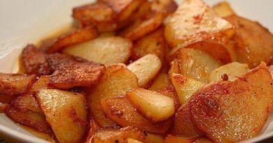Картошка жареная в мультиварке