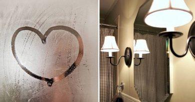 Как избежать запотевания зеркал в ванной