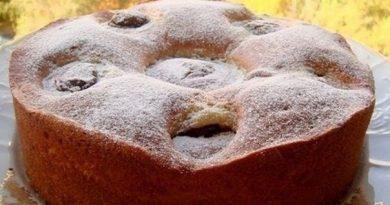"Пирог ""Яблочки с шоколадом"""
