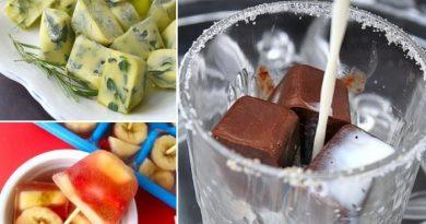 16 потрясающих способов применения формочек для льда