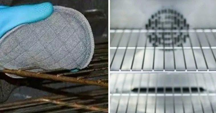 Самый простой способ отчистить решетки духового шкафа от жира
