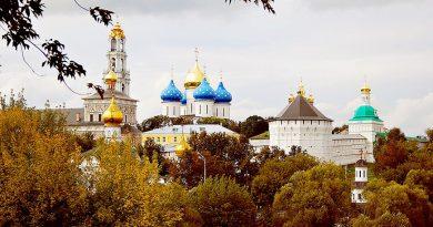 Золотое кольцо России: города, монастыри, памятники архитектуры