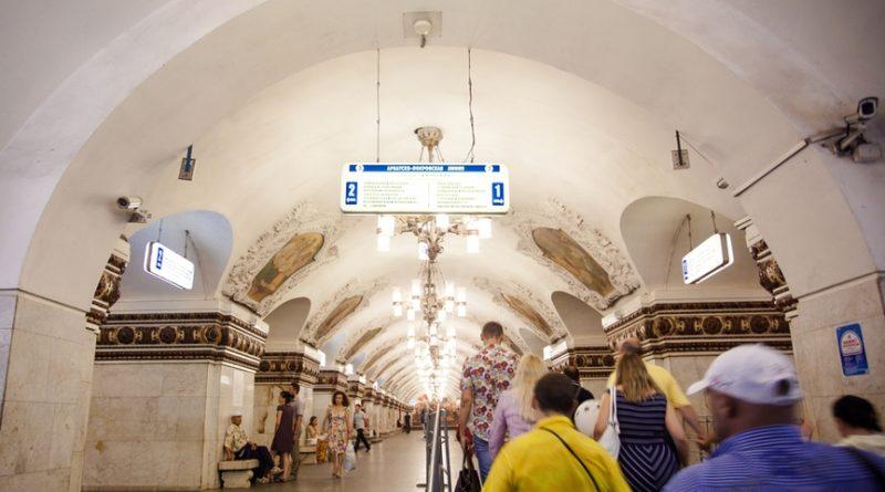 10 самых красивых станций метро Москвы