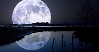 Ближняя сторона Луны темнее, чем дальняя