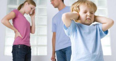 Как влияют ссоры родителей на ребенка