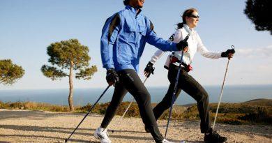 Польза скандинавской ходьбы для всего организма