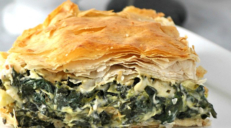 Греческий пирог (Спанакопита)