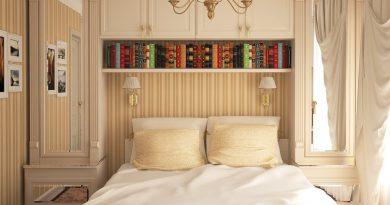 Выбор мебели для небольшой спальни