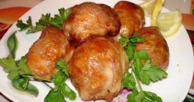 Крученики из индейки (курицы)