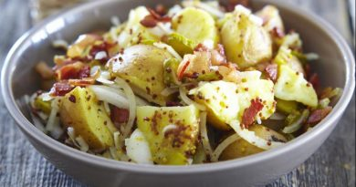 Картофельный салат.