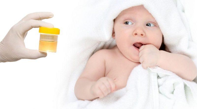Как заставить маленького ребенка пописать для анализов