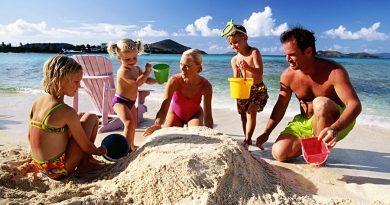 Тройка лучших мест для отдыха всей семьей