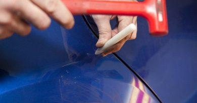 Удаление вмятин своими руками на автомобиле без покраски