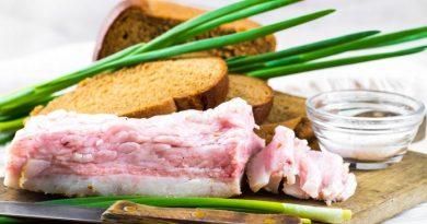 Как приготовить моченое сало
