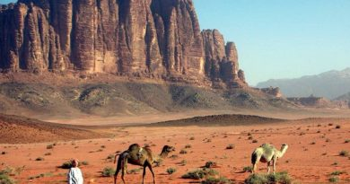 Кусочек Марса на Земле – пустыня Вади Рам