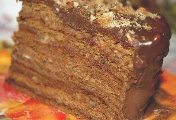 """Шоколадный торт """"Вкус детства"""""""