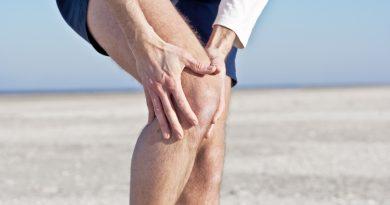 Убрать боль в коленях