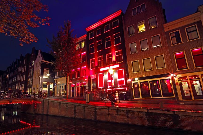 улица красных фонарей в амстердаме фото картина красноярске