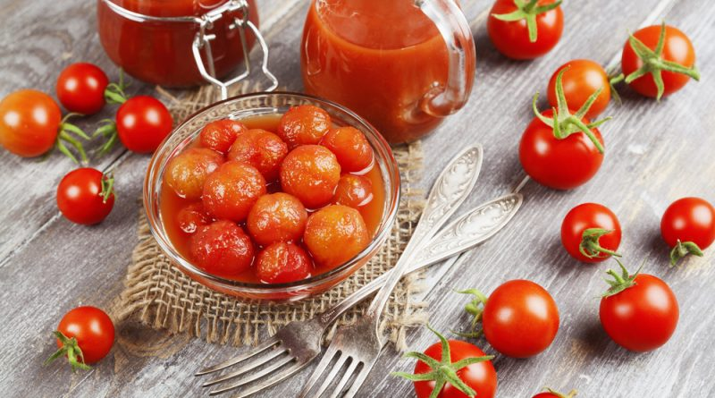 Засолка помидоров черри на зиму