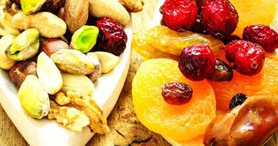 Сухофрукты вместо таблеток и витаминов