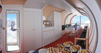 Жизнь на космическом корабле и стадионе: 8 самых необычных отелей России