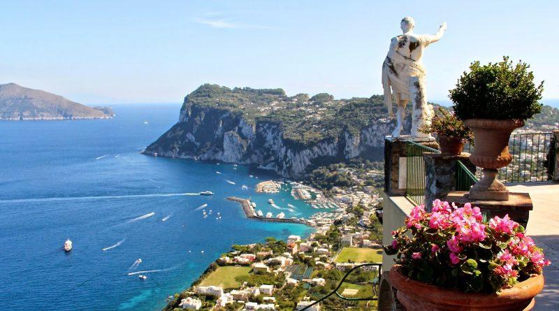 Путешествие по Италии - посещение Капри.