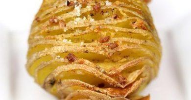 Очень вкусная запеченная картошечка!