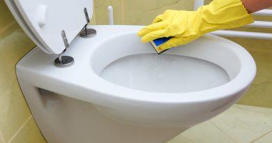 Как очистить унитаз от известкового налета?