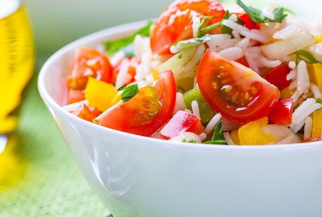 Китайский овощной салат