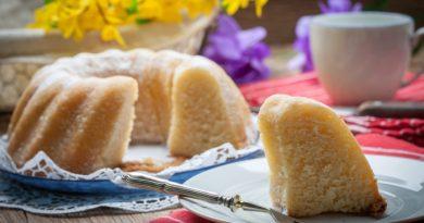 Ванильный кекс: простой десерт к чаю