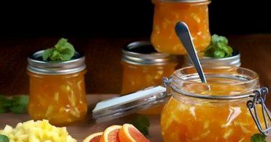 Рецепт яблочно-апельсинового варенья