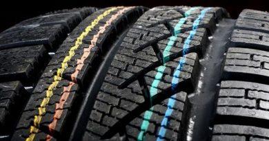 Что за цветные полоски и кружки на шинах?