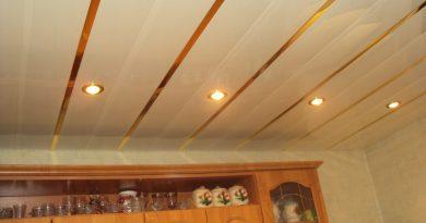 Какой выбрать материал для потолка на кухне