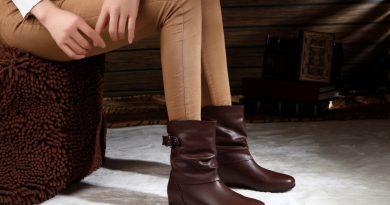 С чем носить короткие сапоги без каблука?