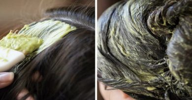 Маска для блеска волос из авокадо