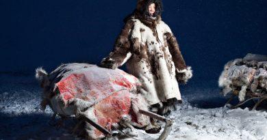 Как жители Чукотки избавляют от грязи на теле